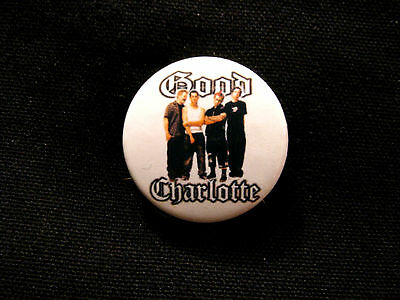 "Good Charlotte 1"" Button  Badge Pin Uk Made New"