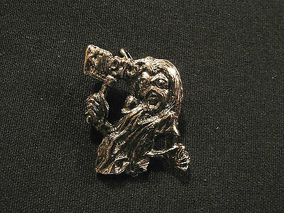 Small Vintage Iron Maiden Pin Button Badge Uk Import  Killers