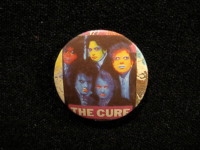 The Cure Vintage Button Badge Pin Uk Import