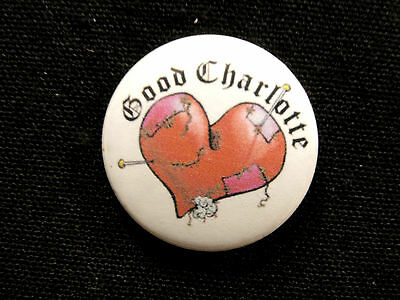"New Good Charlotte 1"" Button  Badge Pin Uk Import"