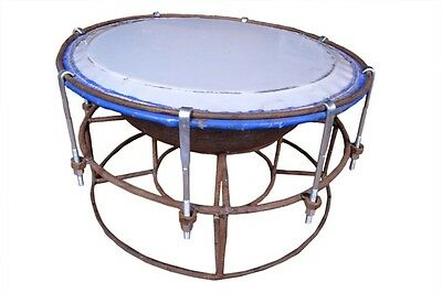 Handmade Tasa Drum With Iron Base By Professionals For Best Sounds And Style