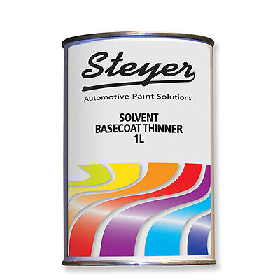 1L Solvent Thinner for 2K Paint Basecoat Metallics Pearl Finishes
