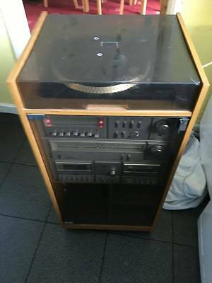 Vintage Amstrad Ts 88 Tower Stereo System Record Player