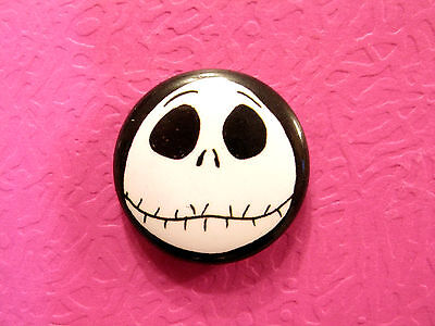 "New ""the Nightmare Before Christmas"" 1""  Button Badge Pin Uk Import"