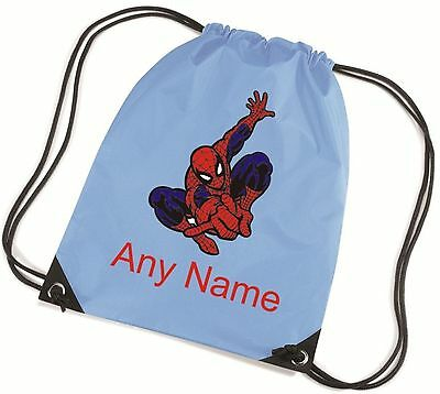 Personalised Spicerman Style School/PE Bag  *Choice Of Colours*