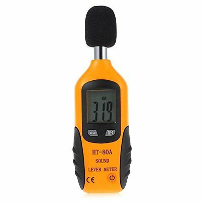 Proster Mini Digital Sound Level Noise Meter Decibel Pressure Monitor DB Tester