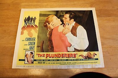 Western Movie original lobby cards (3) The Plunderers