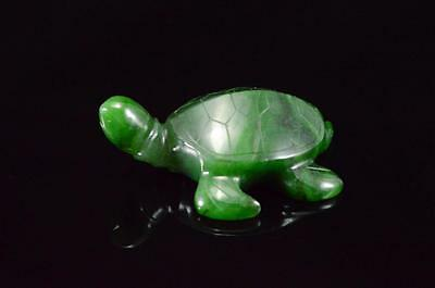 *k NATURAL CHINESE JADE TORTOISE FIGURE! 108.6 grams 3 INCHES LONG