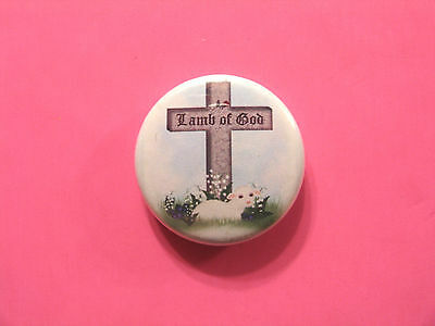 Lamb Of God New Button Badge Pin Uk Import