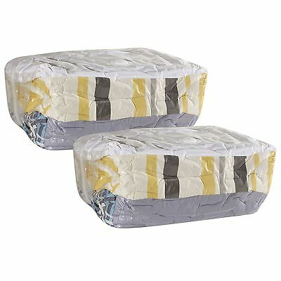 Household Essentials MightyStor Cube Vacuum Storage Bags X-Large Set of 2
