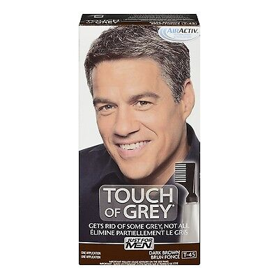 Just for Men Touch of Grey Dark Brown - Grey