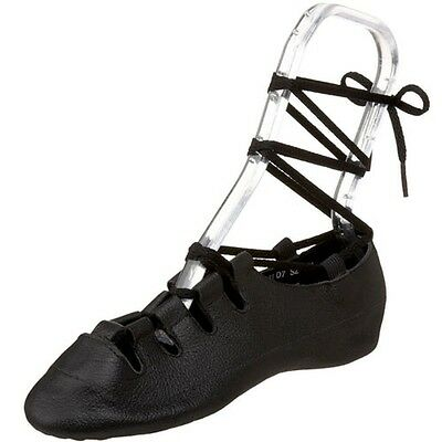 Irish Steppers Ghillies by Capezio 391 New Black
