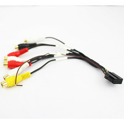 Rosen Car show Navigation 5.1-Channel Preamp Output Harness Cable