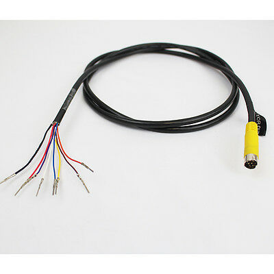 S-video 8 Pin Male 4.5 Ft Cable output /input harness Plug for Monitor Camera