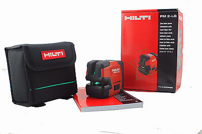 Hilti PM 2-LG Green line laser Hilti laser level Included Magnetic Pivot Bracket
