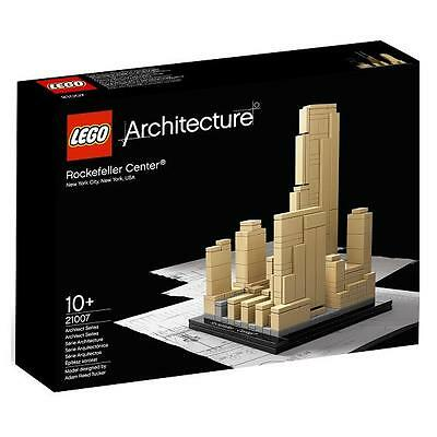 LEGO 21007 Architecture : Rockefeller Center, Brand New, MISB, Sealed Box