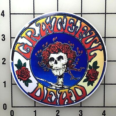 "Grateful Dead 4"" Wide Color Vinyl Decal Sticker - BOGO"