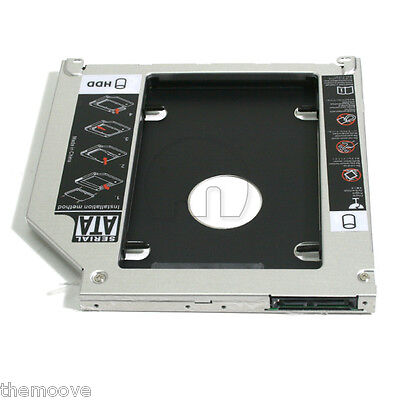 2nd HDD / SSD SATA Replaces DVD-rom 9.5mm for apple Macbook / Macbook pro