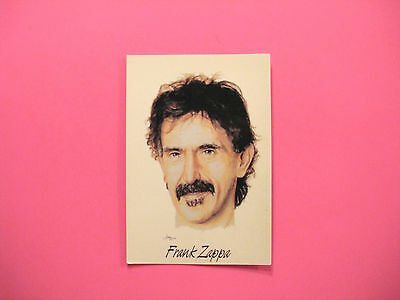Vintage Frank Zappa Postcard  Uk Import