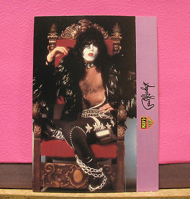 "Official Vintage Kiss Standees Card Us Import   ""paul"""