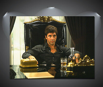 Scarface Al Pacino Vintage Movie Poster - A0, A1, A2, A3, A4 sizes