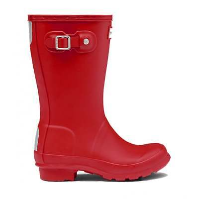 Hunter New Original Kids Wellington Boots - Military Red