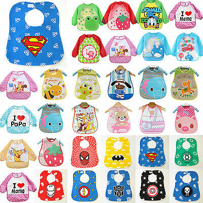 New Baby Kids Toddler Infant Cute Boys Girl Bibs Waterproof Saliva Towel Feeding