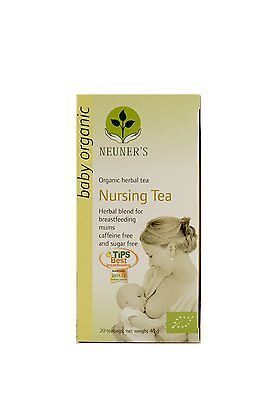 Neuners Organic Nursing Tea Best UK Helps Promote a Healthy Lactation Fast