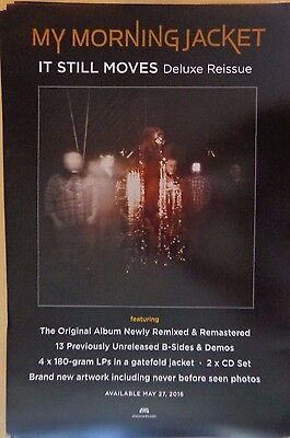 """My Morning Jacket - It Still Moves deluxe reissue 11""""x17"""" promo poster"""