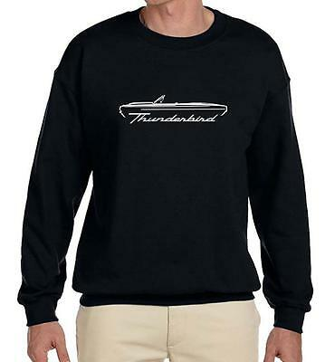 1964 1965 1966 Ford Thunderbird Convertible Outline Design Sweatshirt NEW