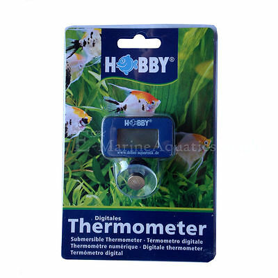 Hobby Digital Thermometer / Submersible Aquarium Thermometer