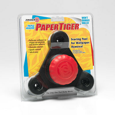 Zinsser Triple Head Paper Tiger Wallpaper Removal Tool