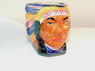 Toby Creamer Mug indian Chief Made in Japan (9294)