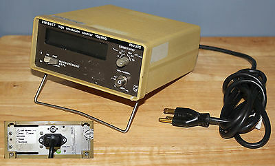 Philips PM6667 High Resolution Counter 120 Mhz