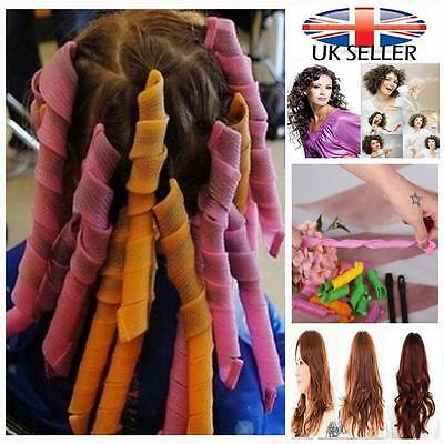 Convenient DIY Hair Styling Circle Rollers Perm Curler Tool Set
