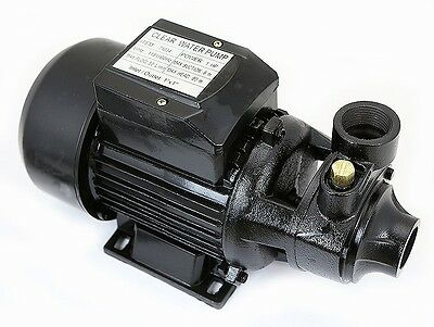 "1HP Industrial Electric Water Pump Centrifugal 1"" npt  Head Copper Core Motor"