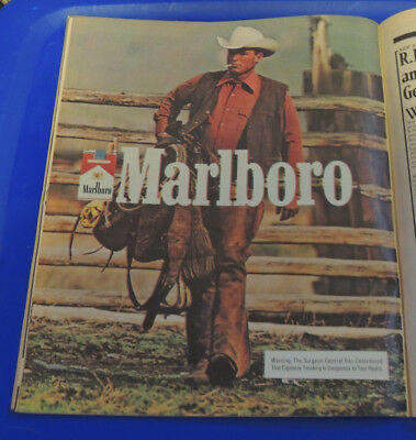 1982 Near Mint Print Ad Poster Come To Marlboro Country Horse Stream 10x13in Collectibles