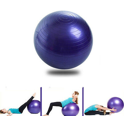 55cm Yoga Fitness Ball Ball Workout Back Leg Hot Abdominal Core Exercise Gym