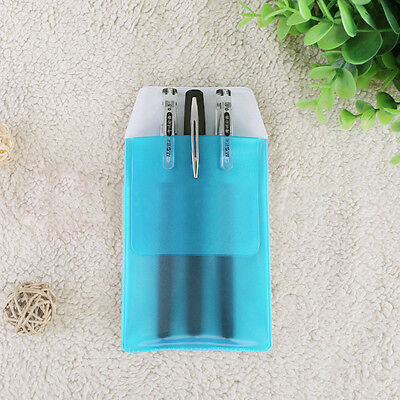Pharmaceutical PVC medical Bag doctors nurses inserted pencil bag Blue