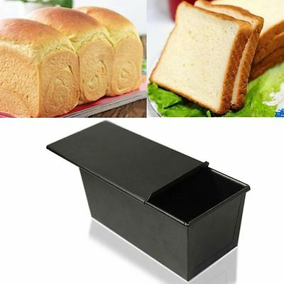 Kitchen Pastry Bread Cake Baking Rectangle Bakeware Nonstick Box Large Loaf Tin