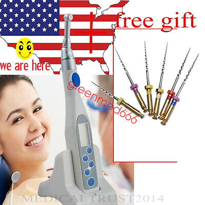Dental Mini Endodontic Endo Motor Treatment 16:1 Reduction Contra Angle w gift