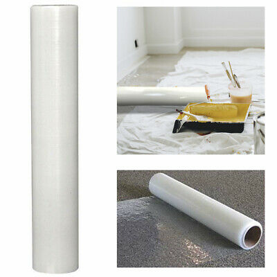 Big Roll Heavy Duty Self Adhesive Carpet Protector Film Dust Cover 60cm x 100m
