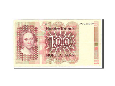 [#115736] Norwegen, 100 Kroner, 1981, KM:41c, Undated, S+