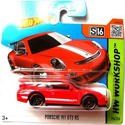 Mattel Hot Wheels S16 CFL78-05B5 Porsche 911 GT3 RS 1-64 Metall Auto NEUWARE OVP