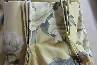 Prestigious Sumersby Cotton Lined Pair Of curtains with Triple Pleat Heading