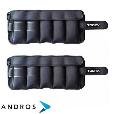 TOORX Pair of wrist/ankle weights 2 x 2,5 kg
