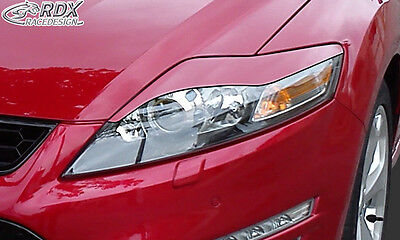 FORD Mondeo MK4 BA7 2007-2014 Headlight covers Eye Brows ABS