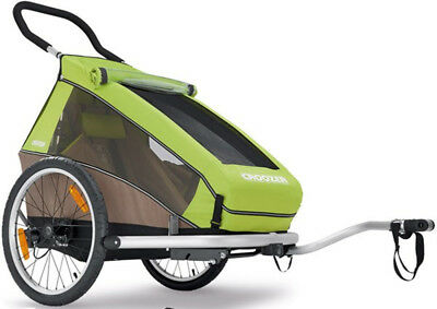 Croozer Kid For 1 Bicycle Trailer 2017 Green
