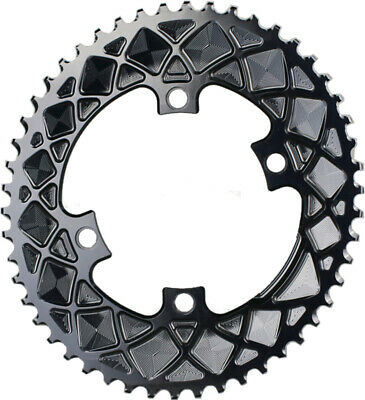 Absoluteblack Oval Road 110Bcd 4B 50T 2X Outer Traction Chainring Black