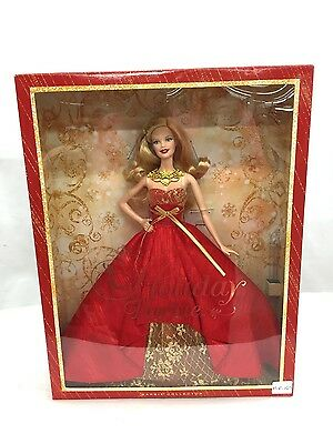 Mattel Barbie Collector 2014 Holiday Barbie New